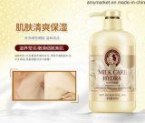 Gel douche de lait hydratant blanchissant le shampooing soyeux 800ml de corps