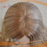 Парик бразильских человеческих волос еврейский (PPG-l-0419)