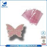 Сделано в ярлыке стикера Китая водоустойчивом кристаллический