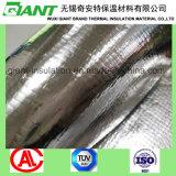 Barrière de vapeur de tissu perforé aluminium laminé isolement