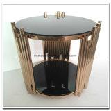 유리제 커피용 탁자 검정 유리제 최고 테이블