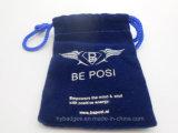 Petite poche colorée de velours, sac de cadeau de souvenir (GZHY-dB-014)