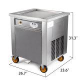 Nieuw Vierkant Pan Slim Gebraden Controlebord 304 van de Maker van het Broodje van het Roomijs van Thailand van de Machine van het Roomijs Roestvrij staal