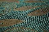 Paño verde del sofá de Chenille Material (FTH31410)