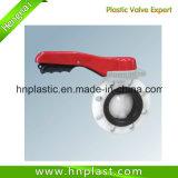 Plastikdrosselventil der Hebel-HandCPVC für industrielles