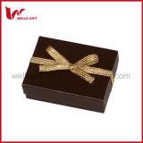 Boîte cadeau de mariage de Noël de l'emballage d'arcs