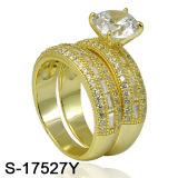 Commercio all'ingrosso della fabbrica dell'anello dei monili dell'argento del nuovo modello