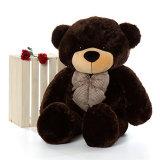 Huggable Tamanho Grande Urso Fuzzy suave