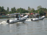 Liyaの軍の残りの膨脹可能なボートの軍隊のボート