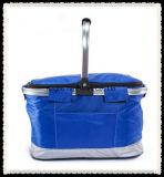 Grosser Größen-Marine-Blau-Farben-Kühlvorrichtung-Beutel