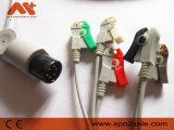 Spacelabs One-Piece pin 6 Cable de ECG
