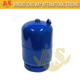 Cuisson du cylindre de gaz avec le bec campant