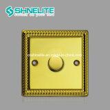 10A 4 Troep 1 Schakelaar van de Kleur van de Schakelaar van de Manier de Elektro Gouden