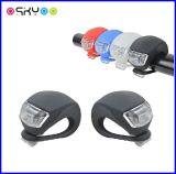 Fahrrad-Sicherheits-Licht-warnende Lampe des Silikon-Mini-LED