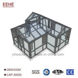 Maison de jardin aluminium grande véranda en verre double vitrage