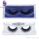 Ciglio naturale del visone dei capelli 3D di qualità Premium