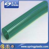 Boyau d'aspiration de ressort renforcé par spirale de PVC