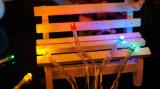 3m 30 светодиодный индикатор заряда аккумулятора волшебная лампа освещения Рождества с питанием от батареи