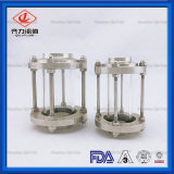 衛生ステンレス鋼三クランプサイトグラス