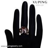 14676 Estilo Antigo Grande pedra de toque do dedo, Graciosa 18K cores Anel de liga de cobre de ouro para as mulheres