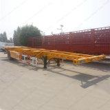 Behälter des Fabrik-Verkaufs-40FT, der halb Skeleton LKW-Schlussteil transportiert
