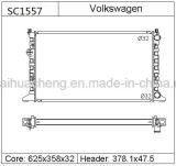 Сертификацию TS16949 алюминиевый радиатор автомобиля 1hm121253A для Volkswagen Golf