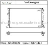 Radiador de carro de alumínio16949 Ts 1HM121253A para a Volkswagen Golf