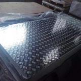 Placa de aluminio de la pisada del modelo del diamante para la industria de la construcción y de la decoración