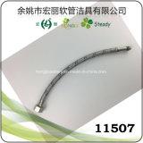 Fil de l'acier inoxydable 11504, fil en aluminium, boyau flexible tressé en nylon de Waire