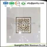 Fácil de limpiar el panel de aluminio de Recubrimiento de rodillos de impresión de la Junta de techo