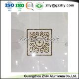 Soffitto di alluminio pulito facile del metallo di stampa del rivestimento del rullo