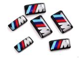 Стикеры алюминиевой эмблемы автомобиля картины автоматические ключевые для BMW