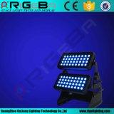 LED de exterior de alta potência na parede de cor da Cidade Luz de Fase do Lavador
