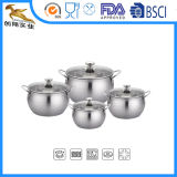 18/10 di Cookware del POT della salsa dell'acciaio inossidabile ed elettrodomestico (CX-STD02)
