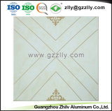 Panneau de plafond décoratifs en aluminium de plafond polymériques