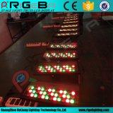 屋外の小型LEDの壁の洗浄段階都市カラーライト
