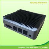 Casella di alluminio esterna rotonda personalizzata dell'alimentazione elettrica dell'azionamento del LED della casella di alluminio impermeabile di potere