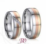 Tri-Color стальное кольцо нержавеющей стали цвета кольца 3