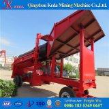 Máquina del oro del equipo minero del motor diesel