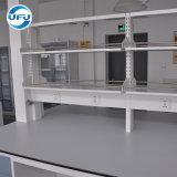 Het hete Verkopende Volledige Staal Worktable van het Laboratorium van de Wetenschap met de Plank van de Reagens