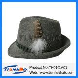 Deutschland-Wolle-Filz-Gebirgsalpiner Mann-Hut