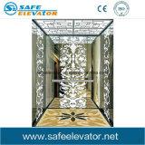 Крытый деревянный лифт дома зеркала