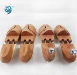 新しい材料は昇進の自然な木製の靴の木を作った