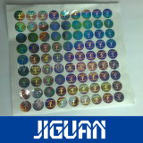 Nieuwe Hete het Stempelen Douane Ontworpen Kras van de Sticker van het Hologram