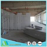 100mm fácil ao painel de parede do sanduíche do cimento do EPS da construção para a parede exterior e interior