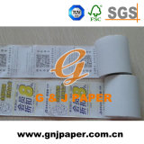 Caixa Registradora Form 80mmx80mm, rolo de papel térmico