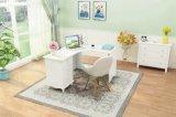 Nuevo diseño de la esquina de MDF de madera Escritorio con el gabinete
