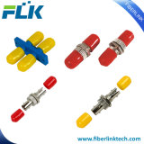 St 단순한 이중 접합기 광섬유 장비