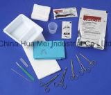 Il kit a gettare del pacchetto del suturare, la sterilizzazione impaccante medica, OEM ha personalizzato