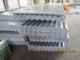 Plaque d'appui plate de plastique (FRP) renforcé par fibre de verre, panneau de toit de lumière du soleil de fibre de verre